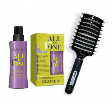 Dárkový balíček ALL IN ONE ALL IN ONE SPRAY (150ml) a kartáč s logem SP